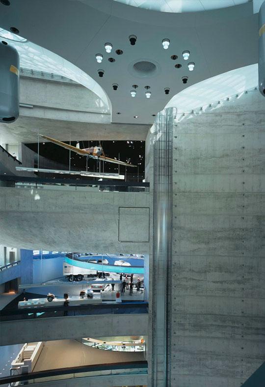 mercedes-benz museum stuttgart | h&p bauingenieure
